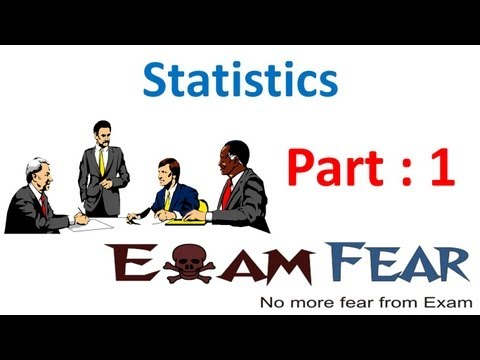 Maths Statistics part 1 (Overview) CBSE class 10 Mathematics X