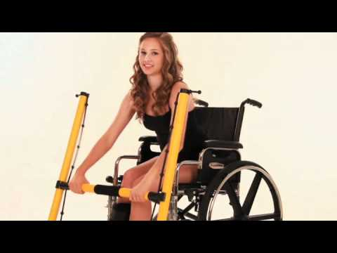 Kefty Wheelchair Workout: a new resistance exercise machine