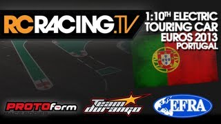 EFRA 1/10th Electric Touring Car Euros - Thursday Practice