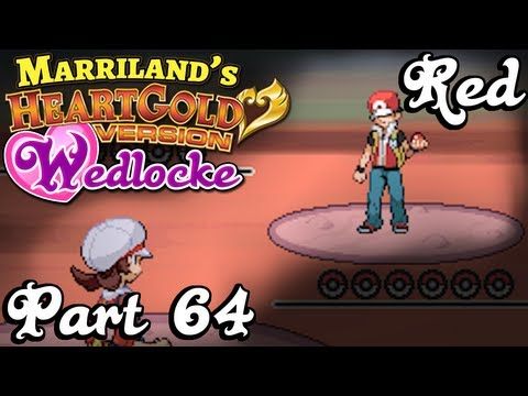 Pokemon HeartGold Wedlocke, Part 64: Redemption! [vs. Red]