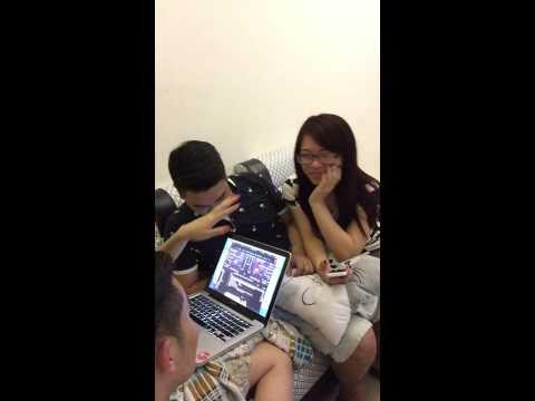 Trang moon dạy học sinh đánh DJ này.