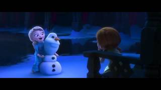 (FROZEN) Little Elsa Plays With Anna