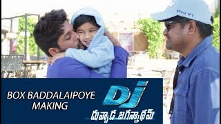 Box-Baddalaipoye-Song-Making---DJ-Movie-Making
