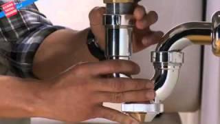 Cómo instalar un sifón