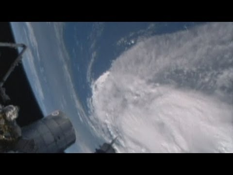 International Space Station captures tropical storm Arthur churning off Florida