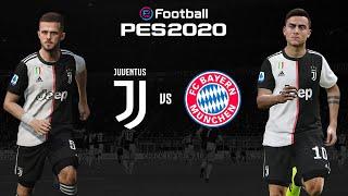 Juventus v Bayern Munich 🎮? | ESPORTS LIVE | PES 2020 Friendly⚽?