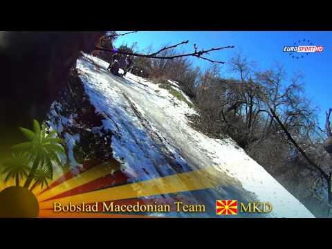 Тимот на Македонија во боб четворосед