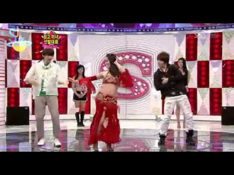 BeLLy DanCer-Sorry sorry Version with EunHae..