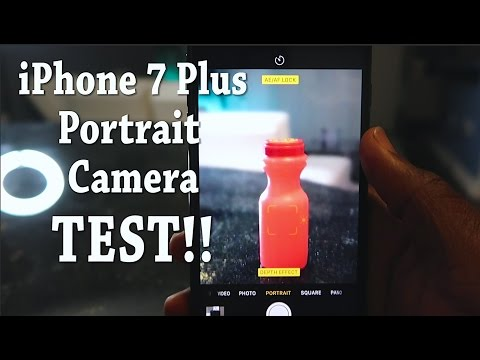 iPhone 7 Plus NEW Portrait Camera TEST!!!