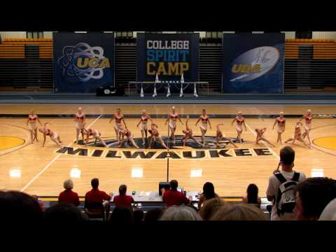 University of Minnesota Dance Team - Camp 2012
