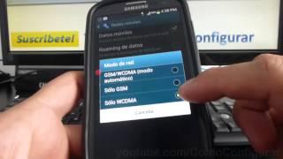 Como Activar Y Desactivar 3g Samsung Galaxy S3 I9300