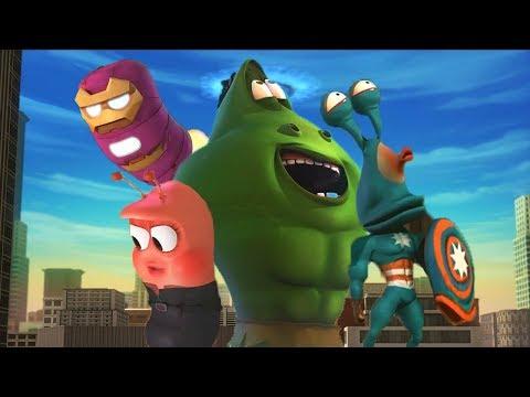 Larva - Superhrdinové
