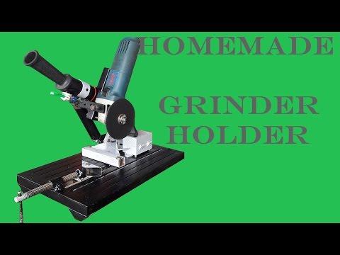 Homemade angle Grinder Stand/Holder