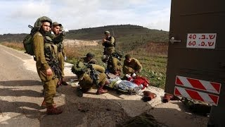 June 2014 Breaking News Israel Military Strikes Syria