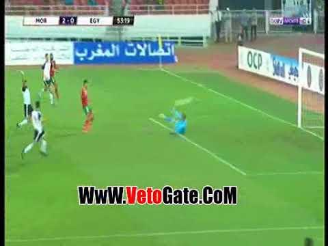 الهدف الثاني للمغرب في شباك مصر