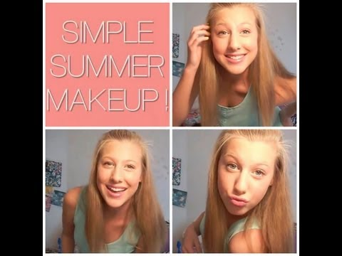 Simple Summer Makeup Tutorial
