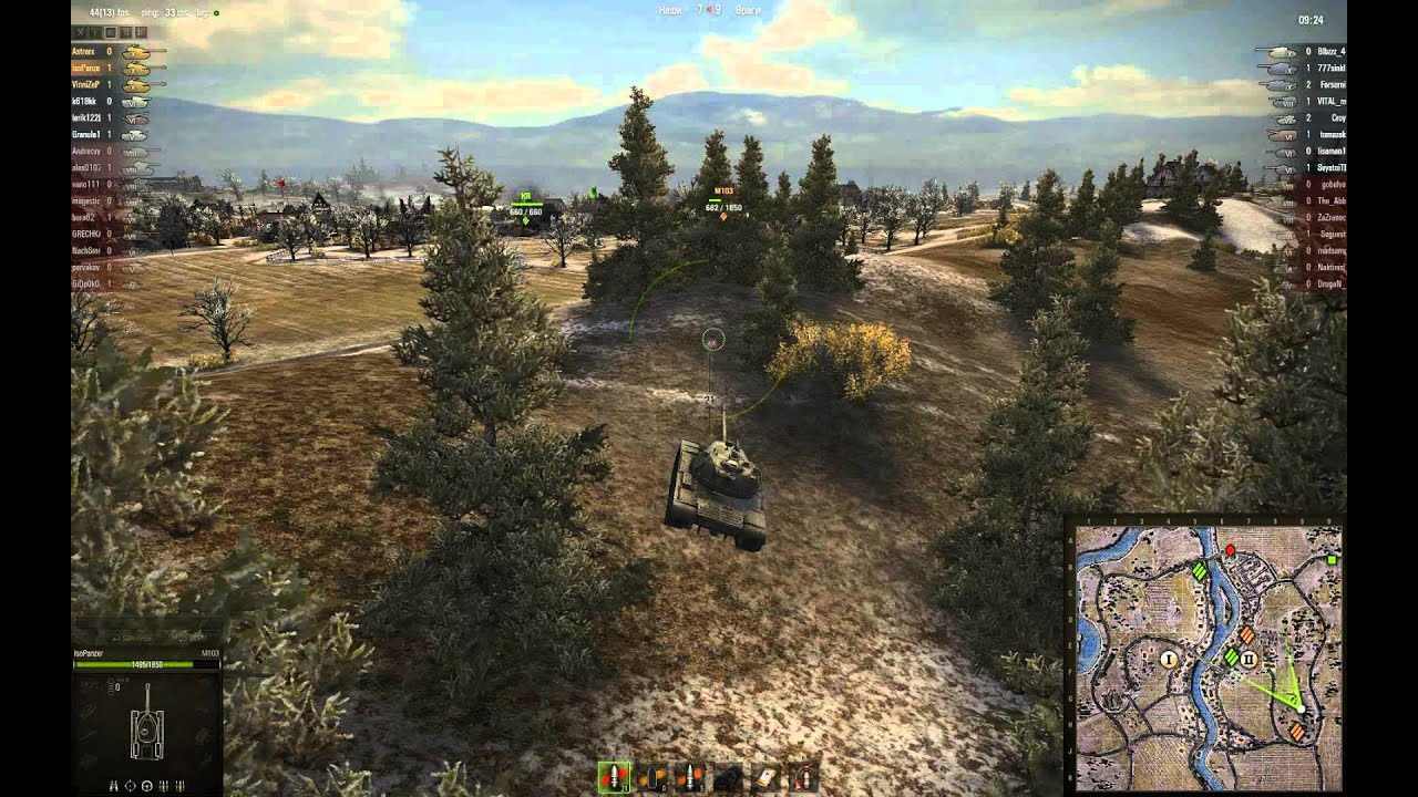 M103 - растолстевший Паттон