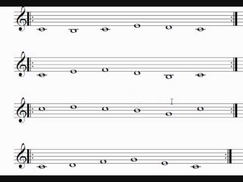 Learn to sing music notes in 5 minutes with this single ...