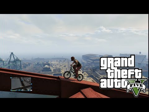 GTA V Online Fun -Monkey Business Brigde-