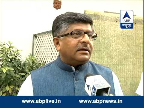 Ravi Shankar Prasad on Nitish Kumar's resignation