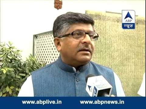 Ravi Shankar Prasad on Nitish Kumar's resignation