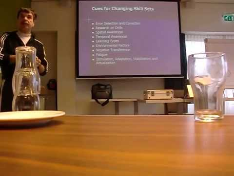 Dan Pfaff about core training, cues, learning types and more at Atletiekunie congres 2010