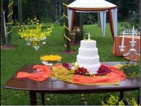 Ornamentação para Casamento - Ideias Simples de Decoração para Casamento Campo e Casa de Festas