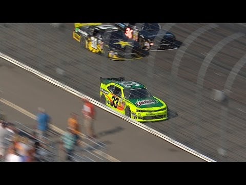 Menard Crash @ 2014 NASCAR Nationwide Series Loudon