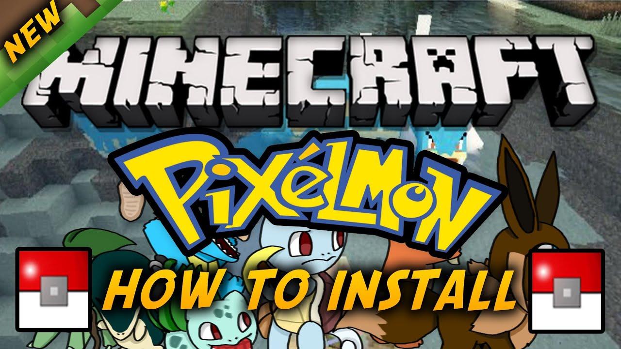 how to get pixelmon mod on minecraft