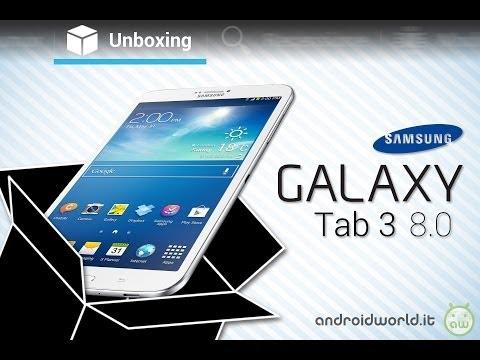 Hình ảnh trong video Samsung Galaxy Tab 3 8.0, unboxing in italiano