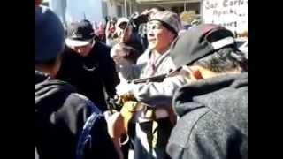 "Idle No More Flash Mob Social Dance ""San Carlos Apache"
