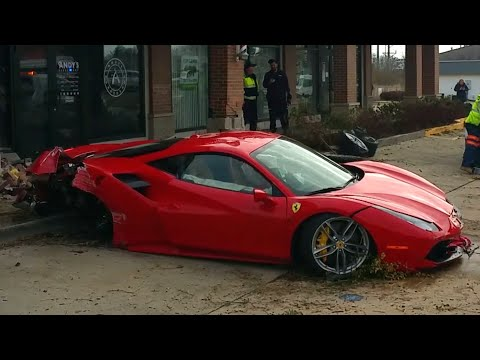Thumbnail of video FAIL!!!    Ferrari Test Drive Goes Wrong
