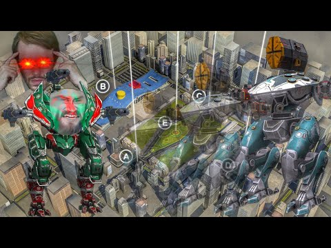 Losing Sanity Over Bizarre Phantom Revenge Hunt | War Robots