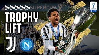 🏆?🍾?? TROPHY LIFT & DRESSING ROOM CELEBRATIONS | Napoli 0-2 Juventus | Supercoppa Italiana