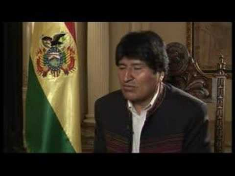 Talk to Jazeera - Evo Morales - 28 March - Part 2