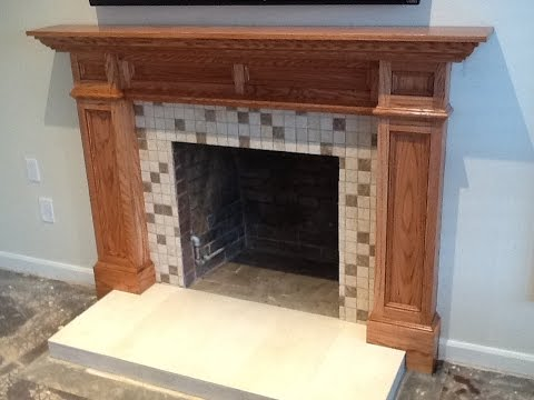 Building A Custom Fireplace Mantle