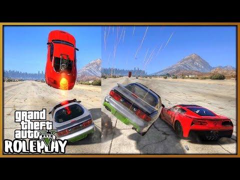GTA 5 Roleplay - FUNNY DRAG RACING CAR CRASH MOMENTS | RedlineRP #717