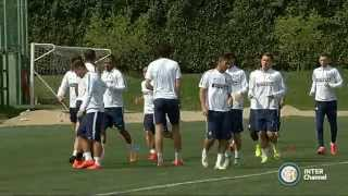ALLENAMENTO INTER REAL AUDIO 29 04 15