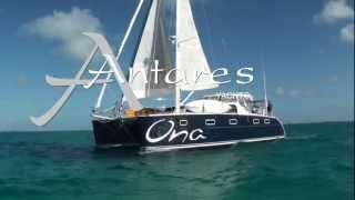 Sailing An Antares 44i Catamaran