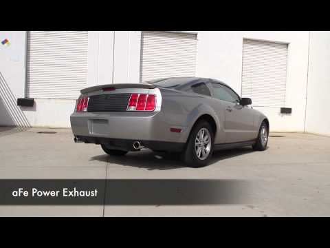 aFe Power 05-09 Ford Mustang V6-4.0L Exhaust System Sound Clip