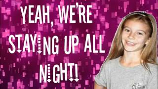 G Hannelius Staying Up All Night Lyrics