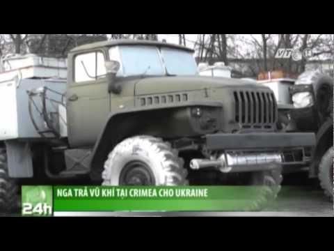 VTC14_Nga trả vũ khí tại Crimea cho Ukraine
