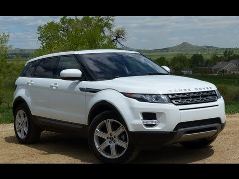 2013 Range Rover Evoque Mile High 0-60 MPH Performance Test