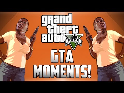 Train Crashes, Creepy Selfies and The Magic Bus! - GTA Moments (Funny GTA V Moments)