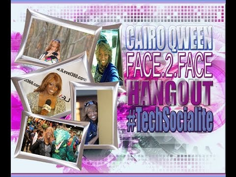FACE.2.FACE with CAIRO QWEEN: A Google Hangout feat. Carlos Phoenix & Ralph Williams