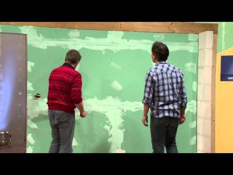 Knauf Bauprodukte - Unter Dach und Fach - Trockenbau Teil 3 - Oberflachen bearbeiten