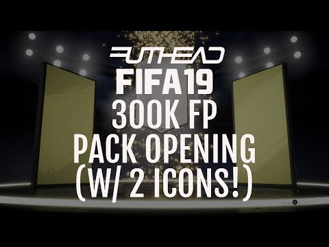 FIFA 19 CAPTURE EVENT: 300K PACK OPENING (2 ICONS!)
