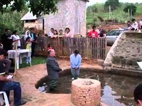 Testemunho Batismo no Poço   João Paulo   YouTube