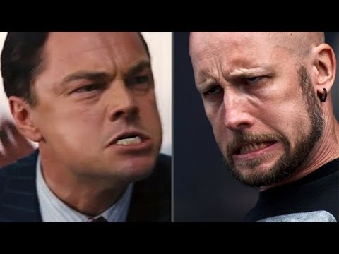 "Thumbnail of video Meshuggah meets ""The Wolf Of Wall Street""."