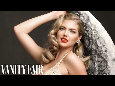 Kate Upton Poses for Annie Leibovitz's 100th-Anniversary Vanity Fair Cover